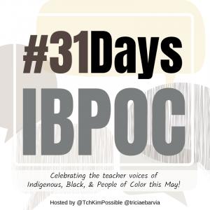 #31DaysIBPOC Blog Badge